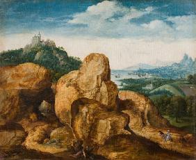Landscape with Flight into Egypt