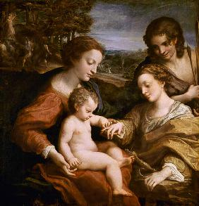 The Mystic Marriage of St. Catherine of Alexandria