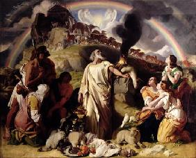 Noah's Sacrifice, 1847-53 (oil on canvas)