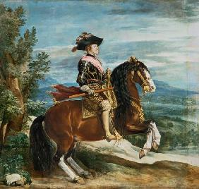 Philippe IV. à cheval