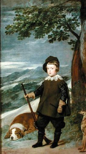 Prince Balthasar Carlos (1629-49) Dressed as a Hunter