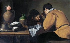 Two Men at Table, c.1620-21