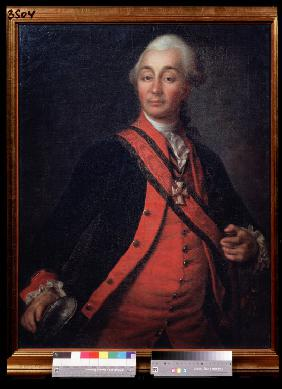 Portrait of Field Marshal Generalissimo Prince Alexander Suvorov (1729–1800)