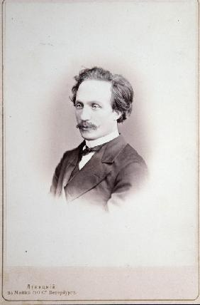 Portrait of the Pianist and Organist Alexander Winterberger (1834-1914)