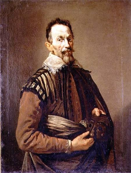 Titre de l'image : Domenico Fetti - Portrait of Claudio Monteverdi (1567-1643)