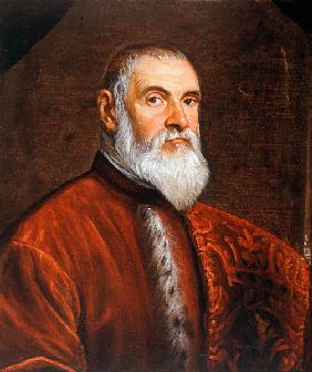 Domenico Robusti/Portrait d''un procurateur,  Tintoretto