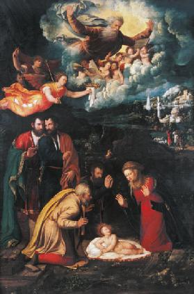 Nativity with God the Father