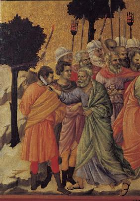 Arrest of Christ, Detail