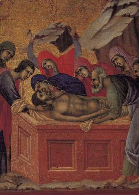 Burial of Christ, Detail