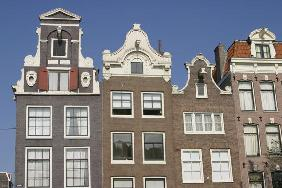 Gabled houses, (photo)