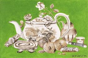 Tea, 1993 (acrylic on paper)