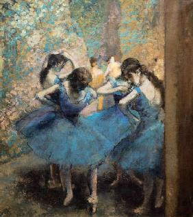 Dancers in blue 1890