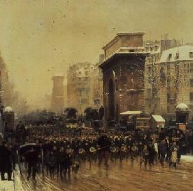 Detaille, Edouard : The Passing Regiment