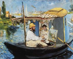Manet, Edouard : Portrait de Claude Monet d...