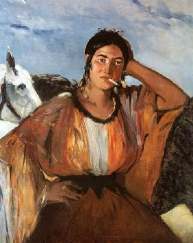 Manet, Edouard : Gypsy with a Cigarette