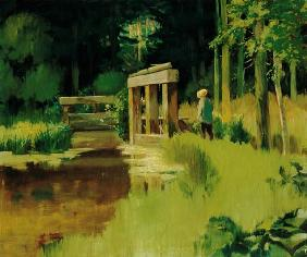 Manet, Edouard : In a Park