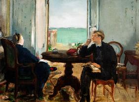 Manet, Edouard : Interior at Arcachon