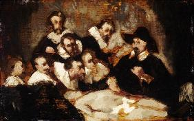 Manet, Edouard : The Anatomy Lesson