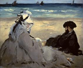 Manet, Edouard : On the Beach