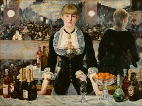 Manet, Edouard : bar aux Folies Berg�res