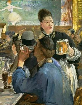 Manet, Edouard : La serveuse de bi�re
