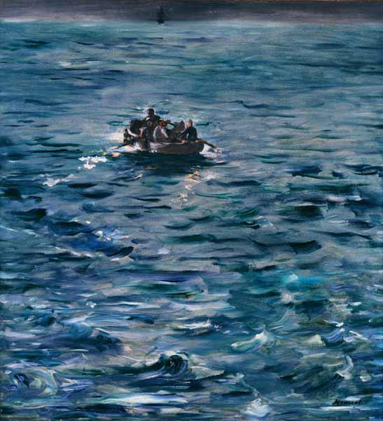 Manet, Edouard : The Escape of Henri de Roc...