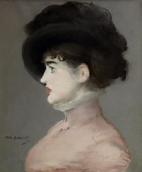 Manet, Edouard : La Viennoise: Portrait of ...
