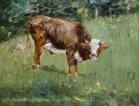 Manet, Edouard : Young Bull in a Meadow