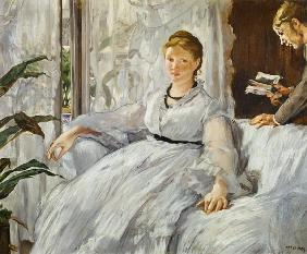 Manet, Edouard : Reading