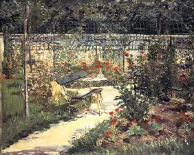 Manet, Edouard : The Bench in the Garden of...
