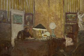 Thadée Natanson at His Desk