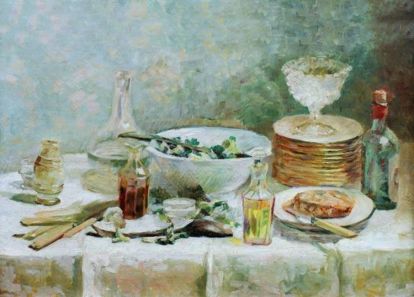 Nature morte a la salade (Stilleben