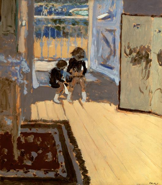 Children in a Room, 1893 (oil on cardboard)