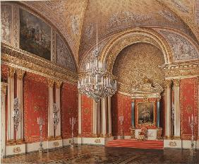 The Peter's (Small Throne) Room in the Winter palace