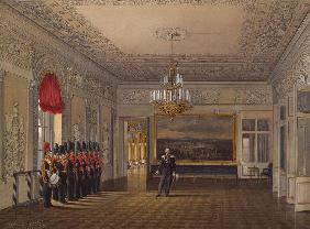 The Picket Hall in the Winter palace in St. Petersburg