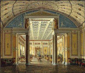 Interiors of the New Hermitage. The Room of Cameos