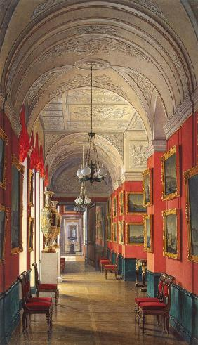 Interiors of the New Hermitage. The Room of the Petersburg Views