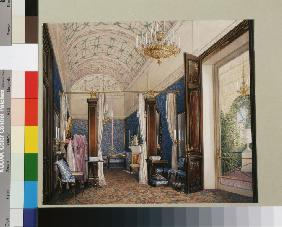 Interiors of the Winter Palace. The Dressing Room of Empress Alexandra Fyodorovna