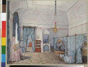 Interiors of the Winter Palace. The Fifth Reserved Apartment. The Bedroom of Grand Princess Maria Al