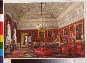 Interiors of the Winter Palace. The First Reserved Apartment. The Large Study of Grand Princess Mari