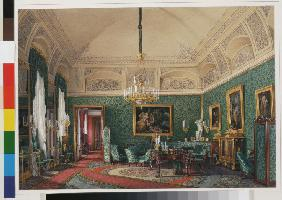 Interiors of the Winter Palace. The First Reserved Apartment. The Small Study of Grand Princess Mari