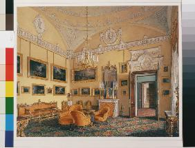 Interiors of the Winter Palace. The First Reserved Apartment. The Drawing-Room of Duke Maximilian Le