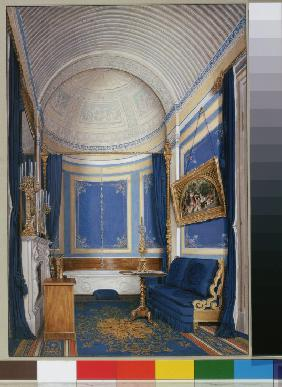 Interiors of the Winter Palace. The Bathroom of Empress Maria Alexandrovna