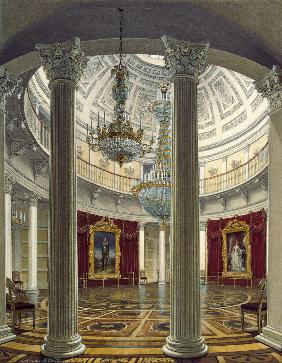 The Rotunda of the Winter palace in St. Petersburg