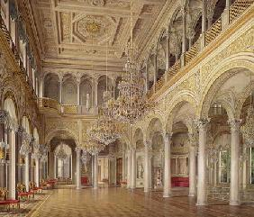 The Pavilion Hall, The Small Hermitage, 1864 (colour litho)