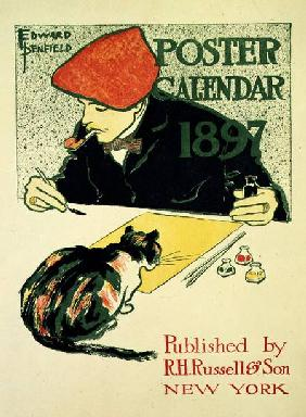 Poster Calendar, pub. by R.H. Russell & Son