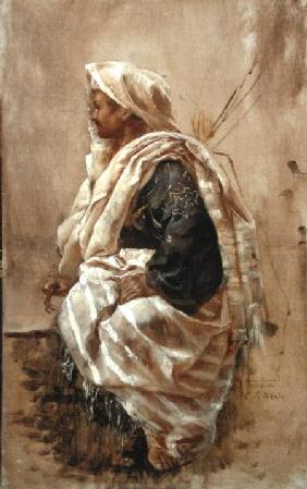 A Seated Arab