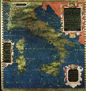 Map of Sixteenth Century Italy