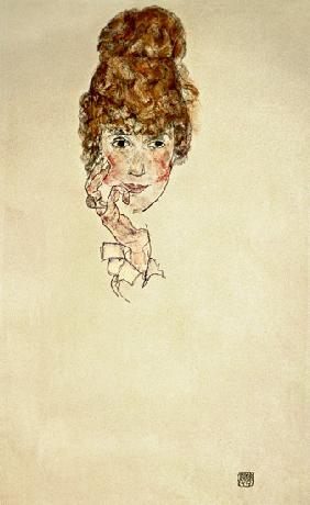 portrait d'Edith Schiele
