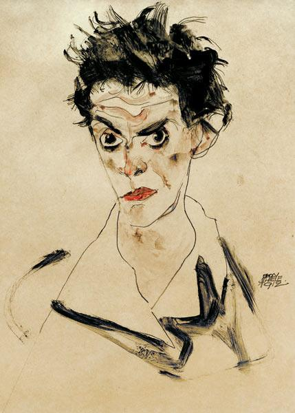 Self-portrait 1912